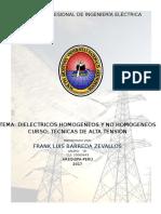 Dieléctrica Homogenos y No Homogeneos