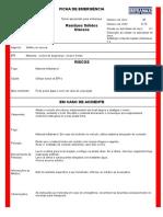 Modelo Ficha de Emergência-sólidos