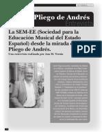 Entrevista a Víctor Pliego Por Ana M Vernia