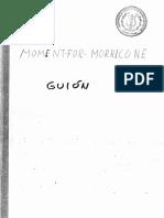 MOMENTforMARRICONE-Guion