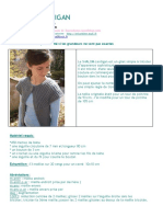 Cardigan Shalom - Tutoriel