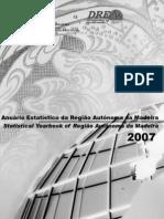 Anuário Estatístico da Região Autónoma da Madeira - 2007