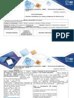 Guia y Rubrica Fase 4 Reconocer Los Metodos Cuantitativos Cuadro y Diagrama de Relacion de Las Actividades