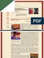 Justicieros Del Imperio Los Superheroes en La Guerra Contra El Terror