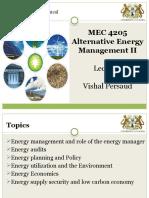 MEC 4205- Lecture Notes