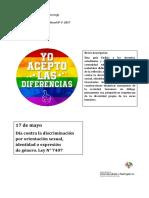 Serie Efemérides Diversidad Cultural Nº 5 (1)