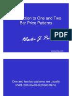 Martin Pring 1 and 2 Bar Price Patterns