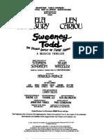 Sweeney Act One