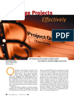 PM01-Manage Projects Effictively