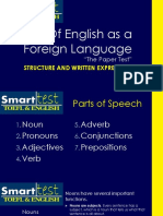 TOEFL Grammar and Structure