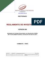 Reglamento Investigacion v009