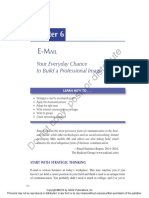 E-mail Writing in Professional Contexts