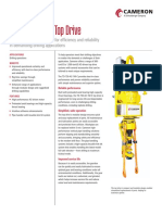 Top Drive 750 Product Sheet