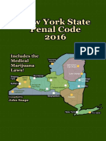 New York State Penal Code 2016