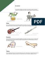 Parámetros de Sonido Musical