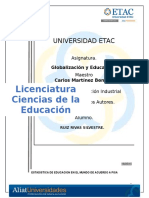 Estadistica de Educacion en El Mundo de Acuerdo a Pisa