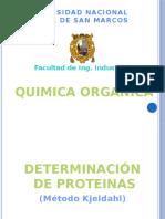 Destilación de Proteinas