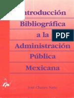 Introduccin Bibliogrfica a La Administracin Pblica m