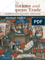 Sheilagh Ogilvie-Institutions and European Trade_ Merchant Guilds, 1000-1800-Cambridge University Press (2011)