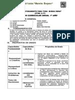 Programa 2011 1ro y 2do Secundaria Comunicacion Idelso