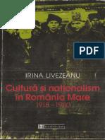 Cultura și naționalism în România Mare - Irina Livezeanu