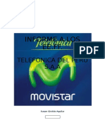 Informe Financiero Telefonica Del Perú 2016