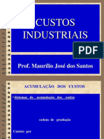 Custos Industriais . 03