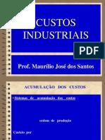Custos Industriais . 03