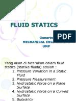 2.Fluid Statics