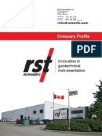 RST Instruments Company Profile