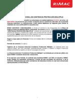 BBVA – Cláusula Adicional Protección Múltiple