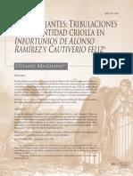 Tribulaciones de la identidad criolla en Infortunios  Y Cautiverio feliz.pdf