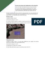 Dimensionamiento de Los Pozos de Oxidación o Percolación