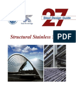 AISC Design Guide 27 Structural Stainless Steel