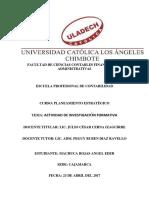 Actividad Nª 14 Actividad de Investigación Formativa III Unidad