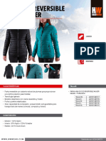 2016 ficha comercial parka reversible goose mujer