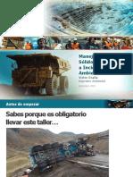 Manejo de RRSS y Respuesta a Incidentes Ambientales 2016