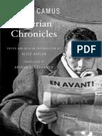 Albert Camus, Arthur Goldhammer, Alice Kaplan-Algerian Chronicles-Belknap Press_Harvard University Press (2013,1958)
