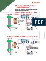 DIAGRAMAS DEL CIRCUITO de Refrigeracion y Aire Acondicionado