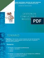 Gestion de Conflictos y Negociacion