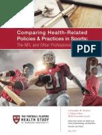Harvard Football Players Health Study Released