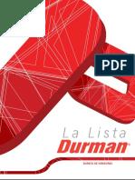 La Lista Durman-honduras