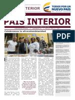 Semanario / País Interior 15-05-2017