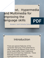 Hypertext, Hypermedia and Multimedia for Improving The Lnaguage Learning