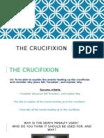Crucifixion Lesson