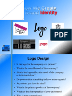 Logo Design Questions and Elements