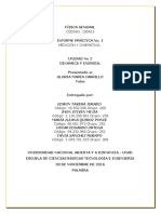 Informe de Laboratorio fisica general