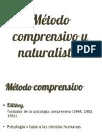 Método Comprensivo y Naturalista