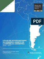 II Plan de Accion de Gobierno Abierto-2015-2017