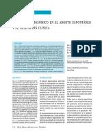 Aborto Studio Cromosomico